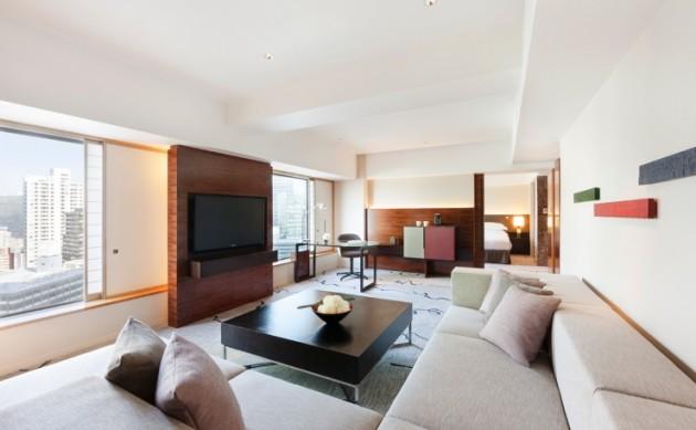 ヒルトン東京の客室