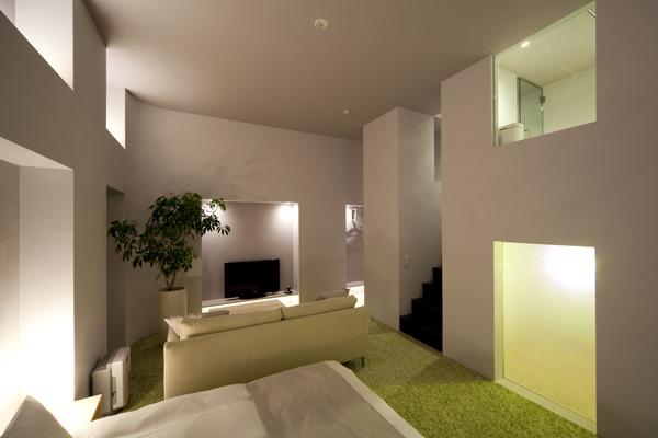 六本木ホテル Sの客室