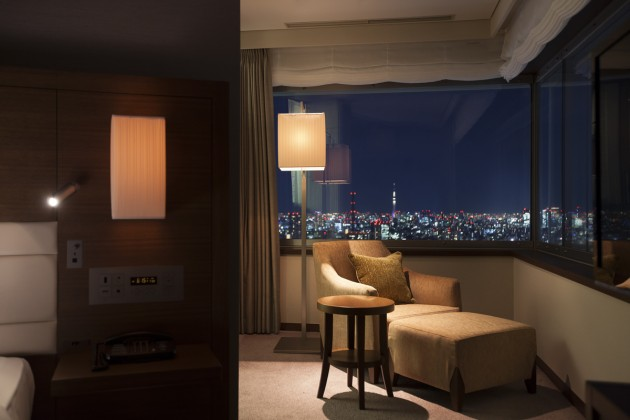 小田急ホテルセンチュリーサザンタワーの客室