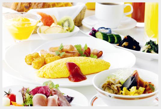 目黒雅叙園の朝食
