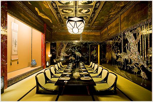 目黒雅叙園のレストラン