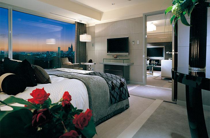 ホテルニューオータニ エグゼクティブハウス 禅の客室