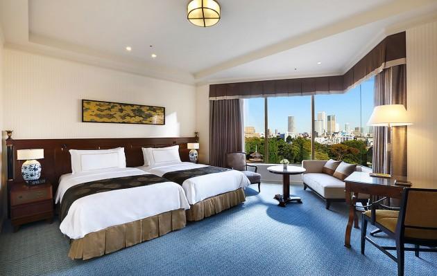 ホテル椿山荘東京の客室