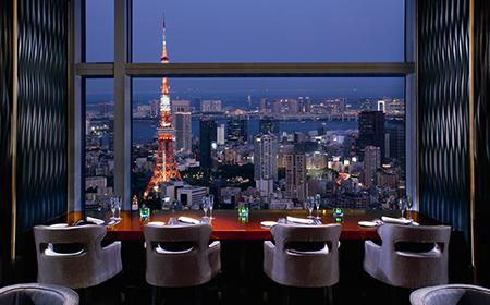 ザ・リッツ・カールトン東京のレストラン