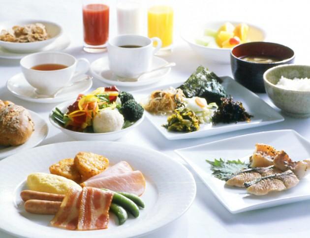 ホテルメトロポリタン エドモントの朝食
