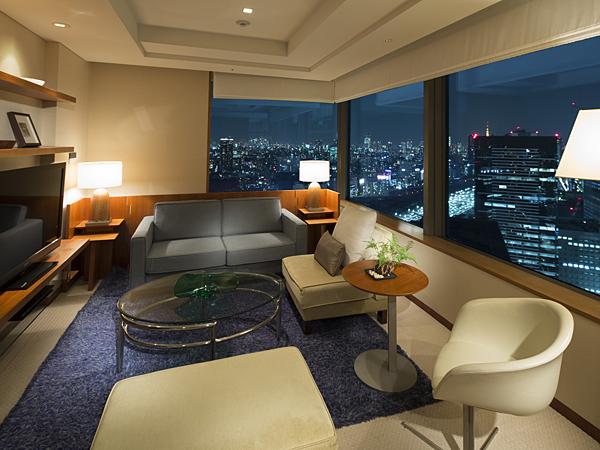 ストリングスホテル東京インターコンチネンタルの客室