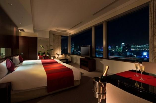 セレスティンホテルの客室