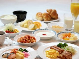 サンシャインシティプリンスホテルの朝食