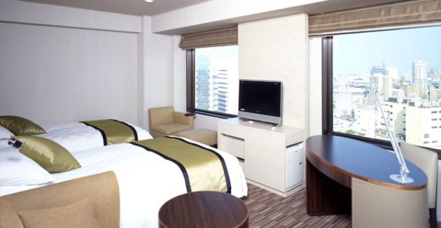 新宿プリンスホテルの客室