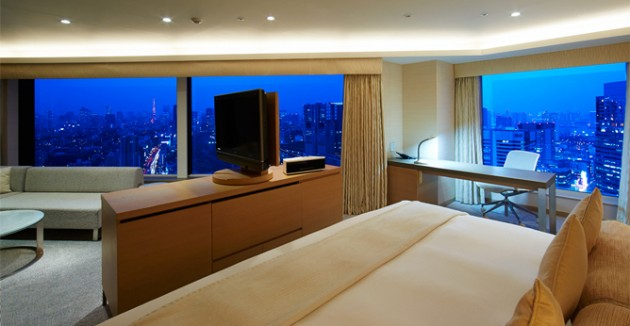 品川プリンスホテルの客室