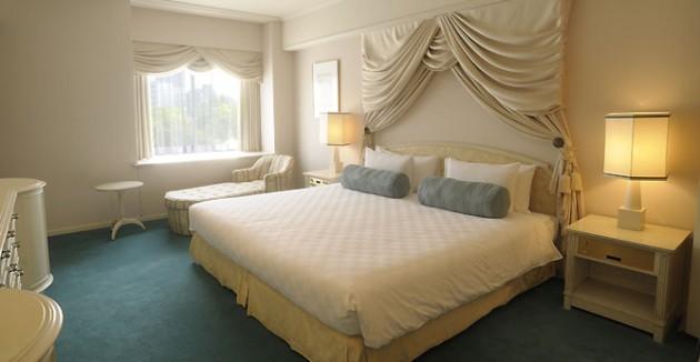 東京プリンスホテルの客室