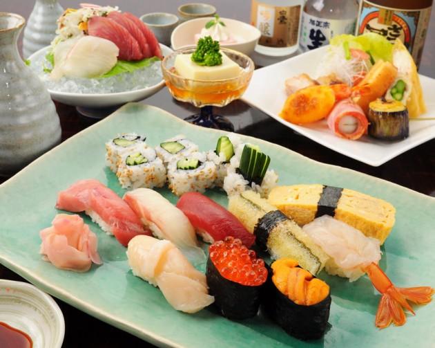 上野 すしざんまいのお寿司の画像