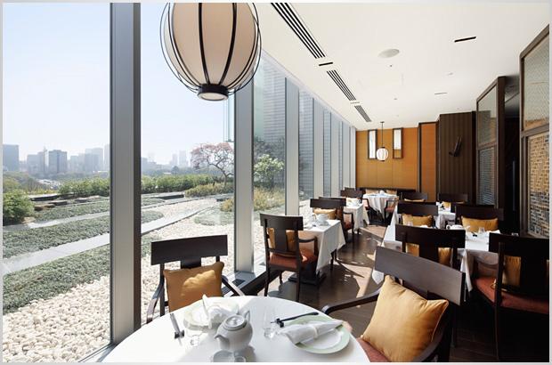 パレスホテル東京のレストラン 琥珀宮