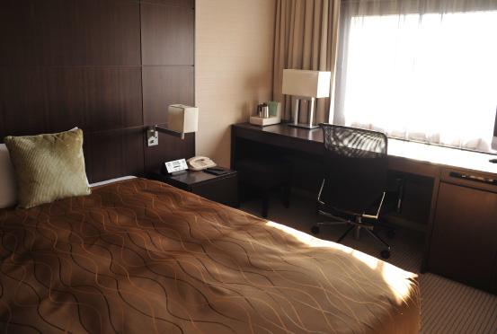 ホテルメトロポリタン エドモントの客室