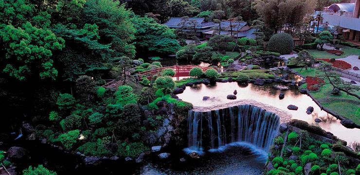 ホテルニューオータニ ザ・メインの日本庭園