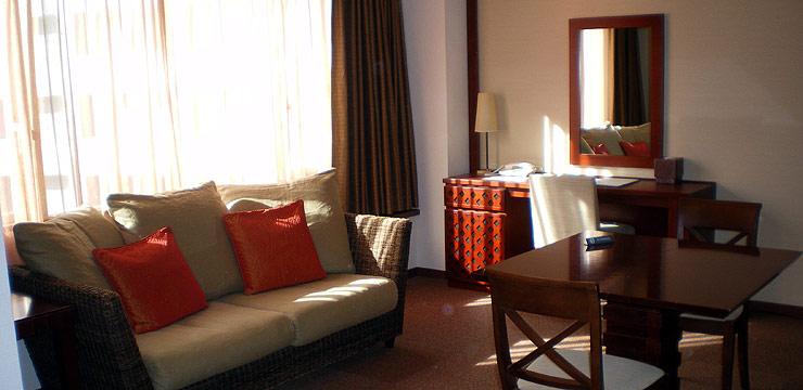 ホテル アバンシェル赤坂の客室