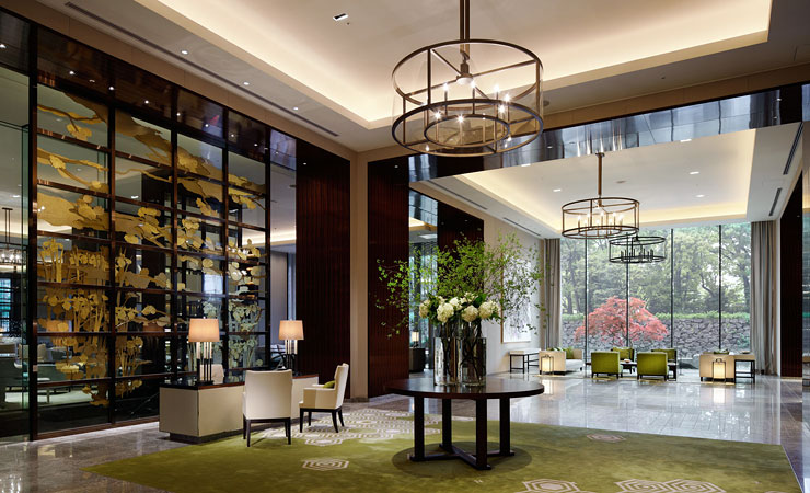 パレスホテル東京のロビー