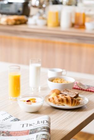 HUNDRED STAY Tokyo Shinjukuの朝食