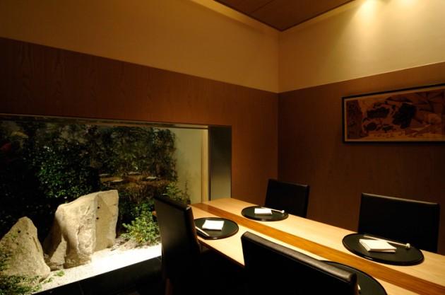 庭のホテル 東京のレストラン