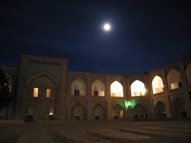 イチャン・カラの夜景