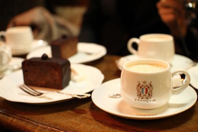 フランソアのケーキセット
