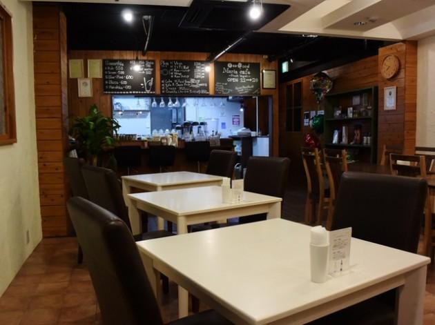 maria cafeの店内