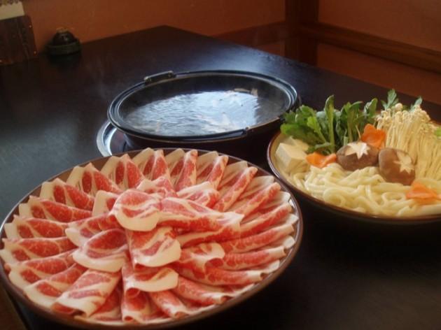 黒豚の館料理