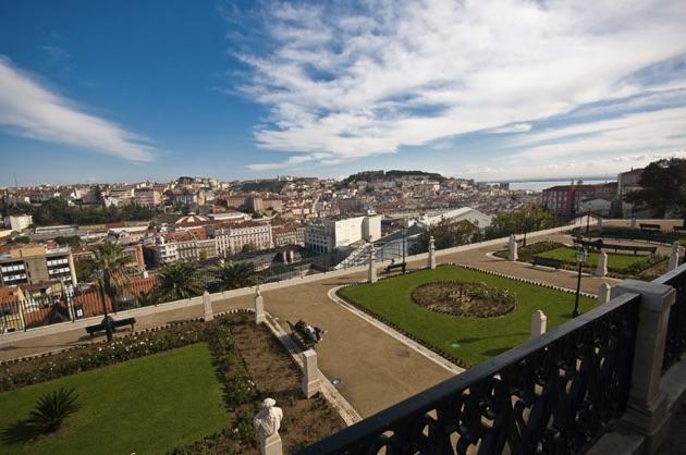 サンペドロデアルカンタラ展望台からの眺め