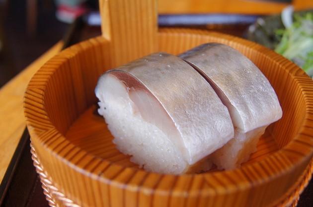 大津 古蝶庵 鯖寿司