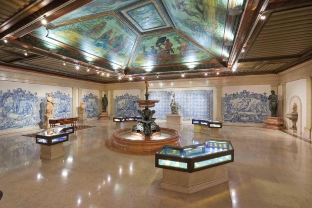 グルベキアン美術館の展示