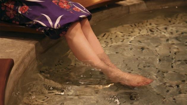 下呂温泉の足湯めぐり