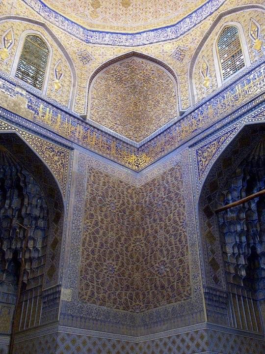 グーリ・アミール廟の内部