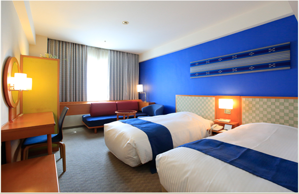 ホテル日航八重山レギュラーフロアーツインルーム