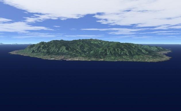 屋久島全景