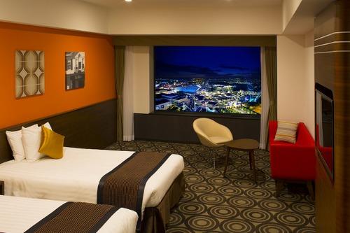 ザ パーク フロント ホテル アット ユニバーサル・スタジオ・ジャパンの客室一例