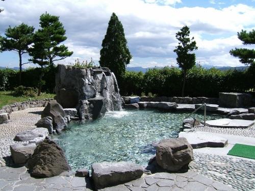 あさしな温泉_穂の香乃湯の露天風呂