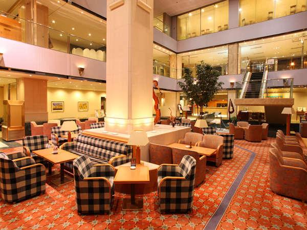 京王プラザホテル多摩のロビー