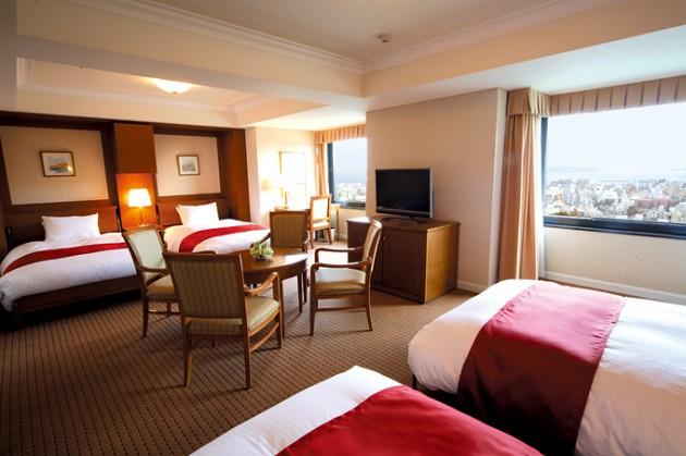 城山観光ホテル客室