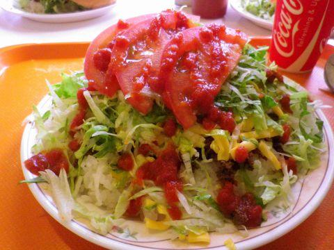 キングタコス チーズ野菜