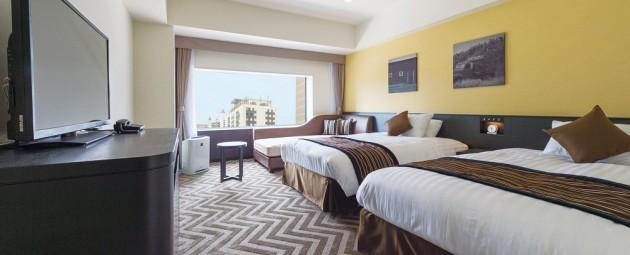 ザ・パーク・フロント・ホテル・アット・ユニバーサル・スタジオ・ジャパンの客室一例