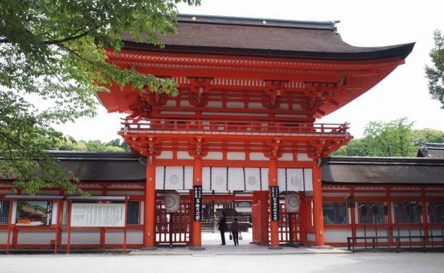 下鴨神社の正面