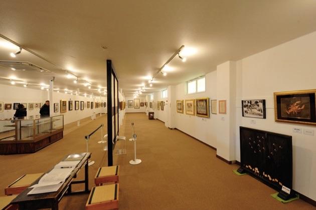 古い町並み美術館の展示