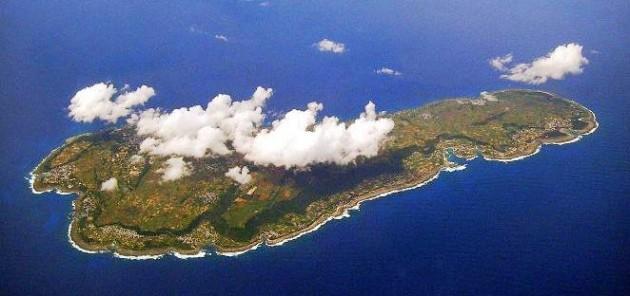 喜界島全景