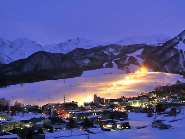 栂池高原スキー場ナイター