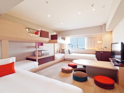 ホテル・ユニバーサル・ポートの客室一例