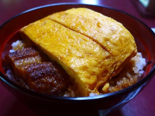 滋賀県 錦糸鰻丼