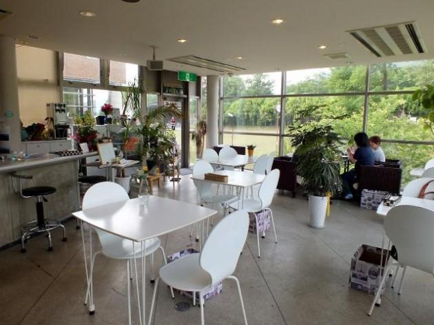 滋賀県 森のカフェ Wabisuke 内観