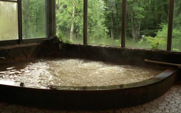 秋神温泉旅館のお風呂