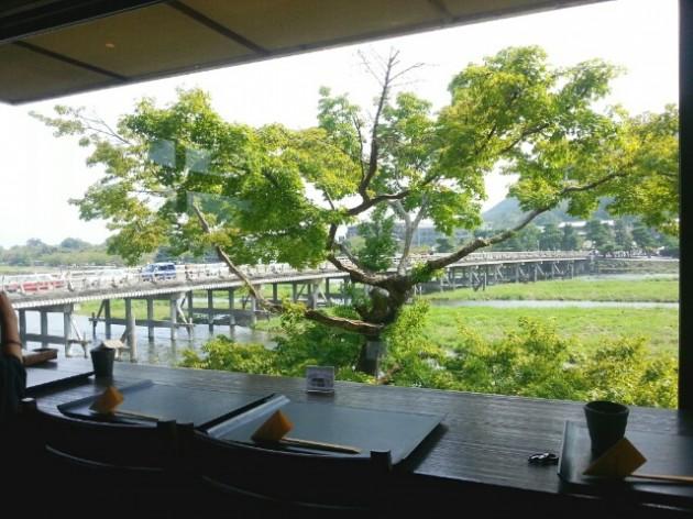 嵐山よしむらの景色