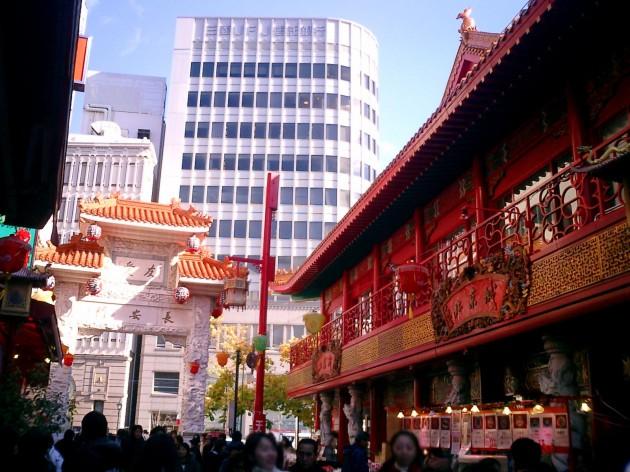 神戸南京町の風景